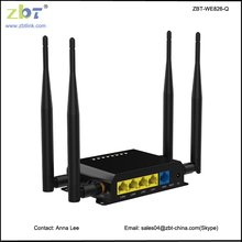 OEM/ODM Qualcomm 3g 192.168.1.1 4g lte wireless router with SIM card slot
