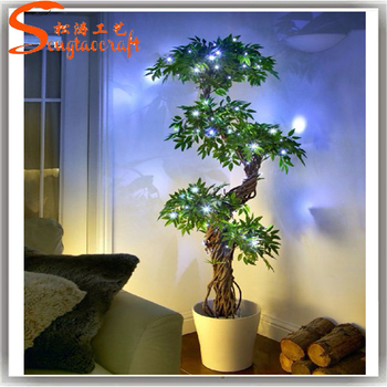 Artificial Japanese Fruticosa Tree Indoor Plant For Home Decorated ...