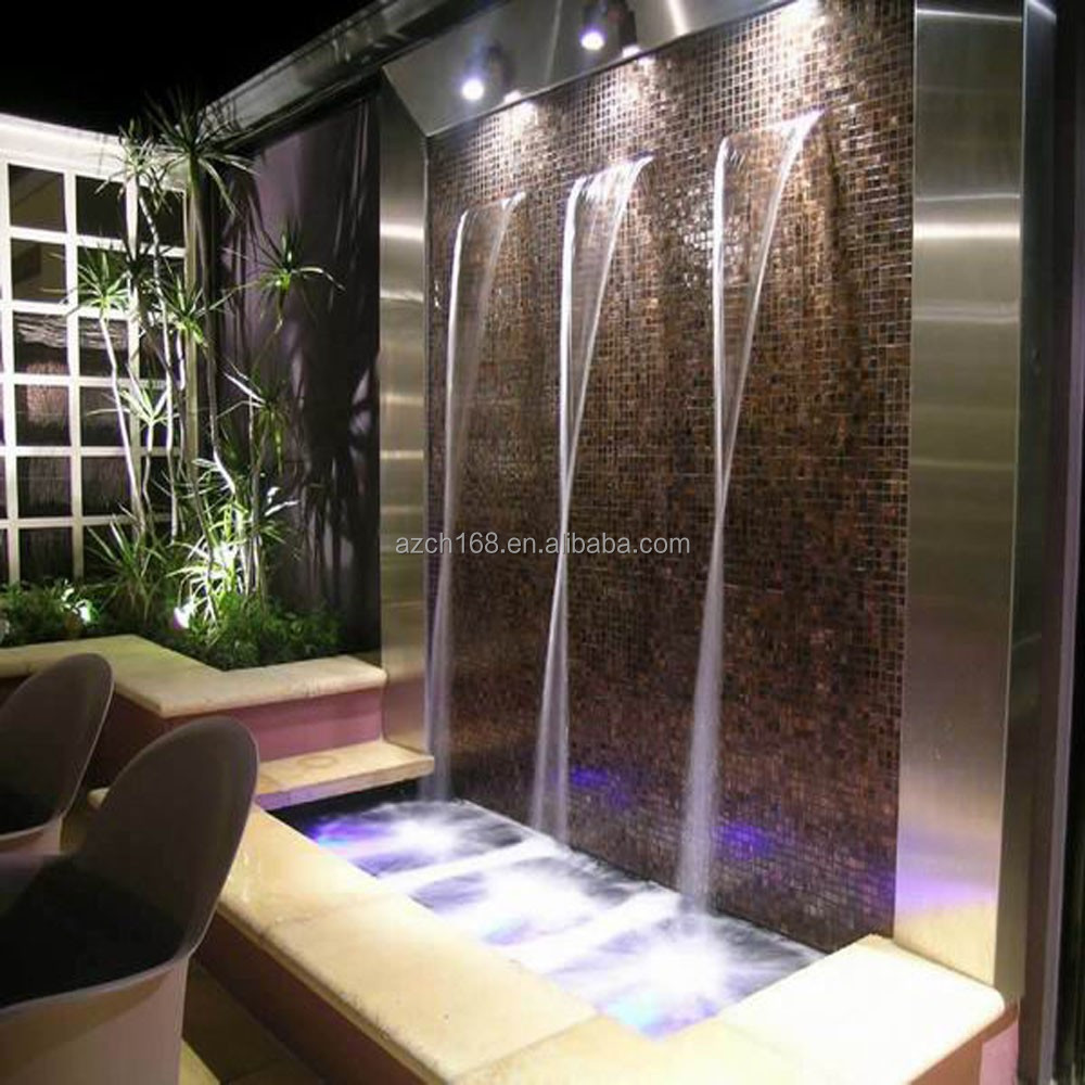 fuente de pared cascada indoor juegos de agua pared fuente de agua proveedor china