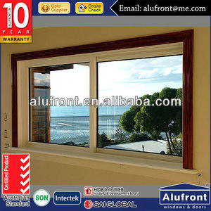 Australia AS2047 modern design aluminum sliding windows /pvc arch window with commercial design