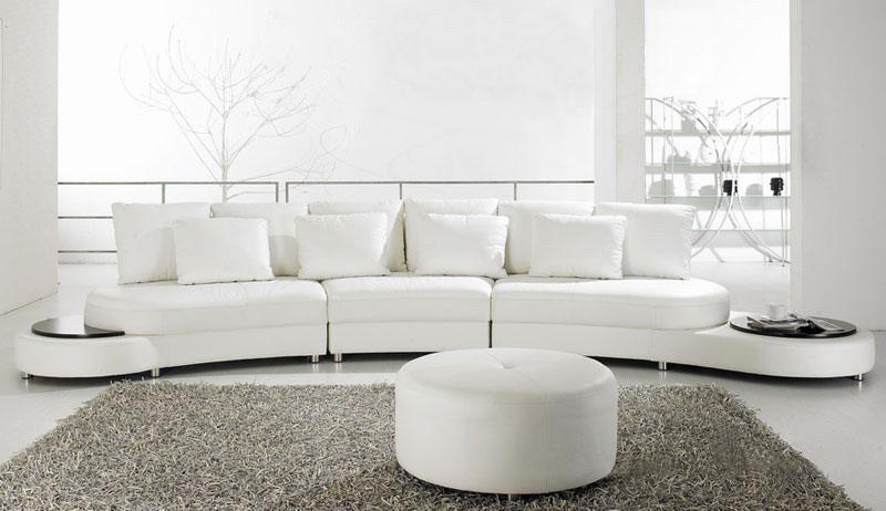 China Genuine Leather Sofa