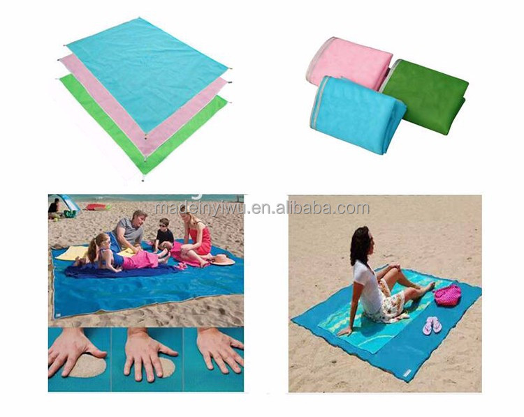 Camping Picnic Foldable Portable Beach Mat Beach Blanket Sand Proof