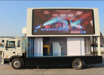 Hot for sale Yeeso Mobile LED Advertising Truck, Led billboard Truck,3  sides led screen on trucks: YES-V9, View Mobile Advertising Digital  Billboards,