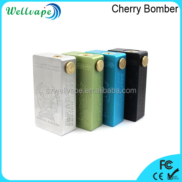 Newest dual 18650 battery cherry bomber hammer mod