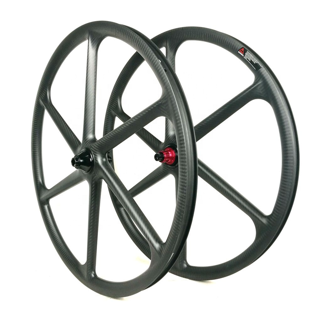 Alibaba.com / Carbon fibre wheels 30MM*30MM  29ER MTB Wheels XD Body Thru Axel Chosen Hub Clincher 6 Spoke Bicycle Wheel 29er wheel