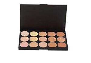 Professionl Makeup Eyeshadow Camouflage Facial Concealer Neutral Palette Hot Sale 15 Colors Eyeshadow