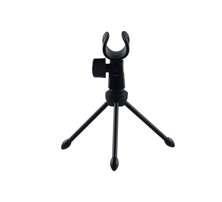 Tripod Desktop Tabletop Microphone Stand Mic Holder