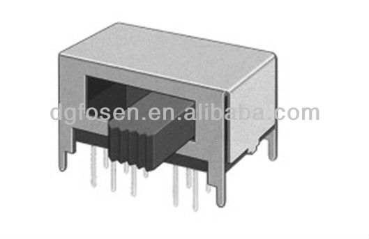 2p4t electronic slide switch spst SK-24D01(S)