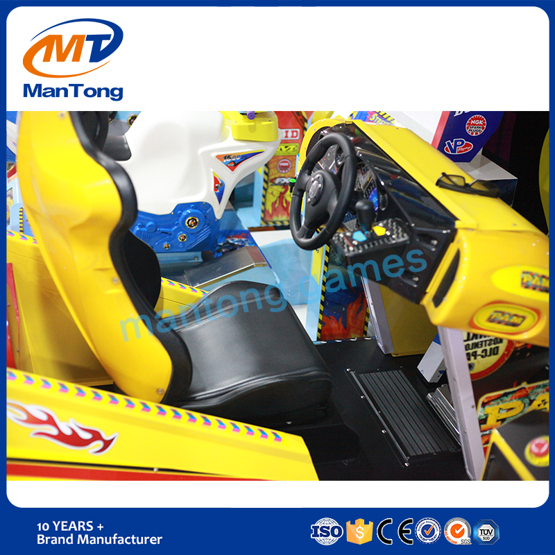 3D super bike coin operted simulator arcade racing car game machine driving car racing for adult