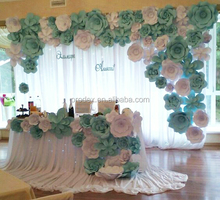 Paper folding flower giant paper flowers Wedding