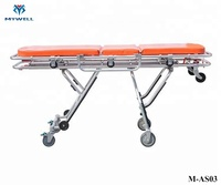 M-AS03 2018 professional bariartic medical ambulance stretcher bed trolley