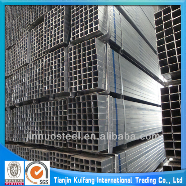 Q195 pre galvanized hollow section pipe steel specification