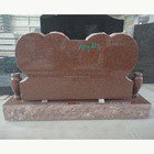 Memorial Stone India Red Pink Granite Grave Monuments