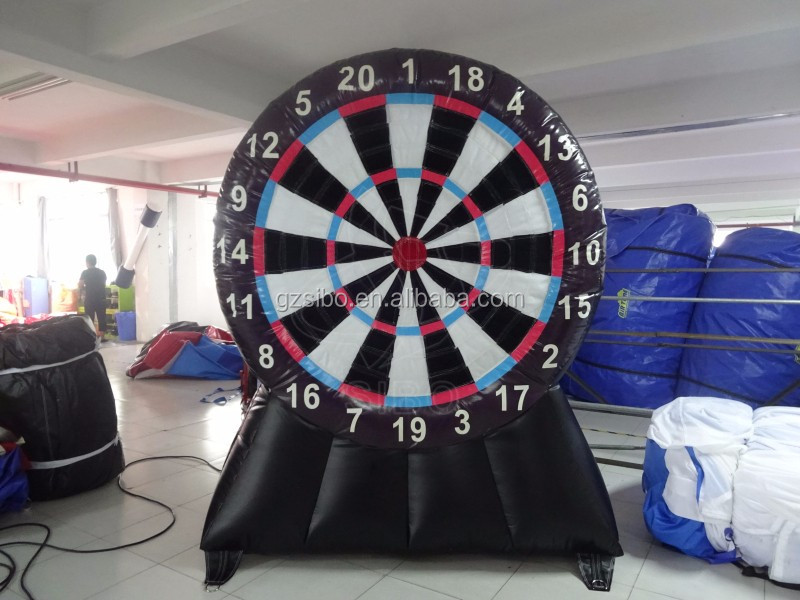 GMIF-161109 China wholesale inflatable sport game inflatable dartboard for sale