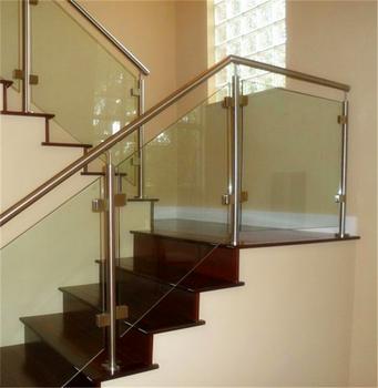 Staircase Frameless Glass Railing Baclony Railing Design Buy