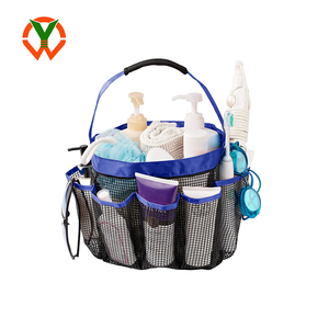 Wholesale Mesh Bath Organizer Toiletry Caddy for College, Dorms, Gym, Camp & Travel