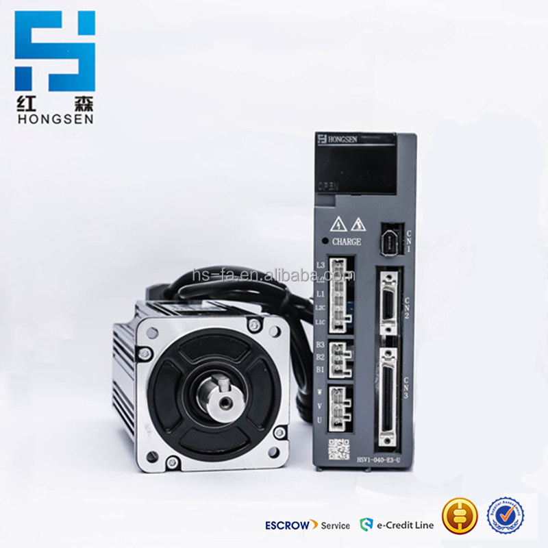 Hongsen HSV1 Series 1KW AC Servo Motor with driver For CNC machine