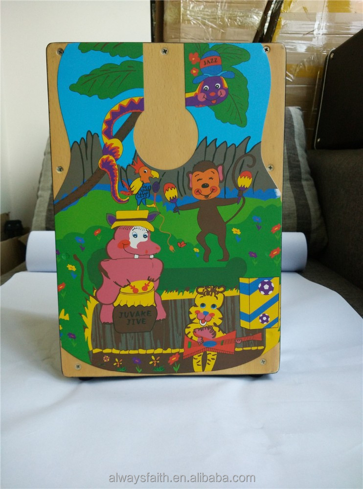 High quality wholesale cajon drum with bag