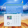 GSM home alarm system wireless smart security burglar alarm & GSM intelligent wireless alarm system host