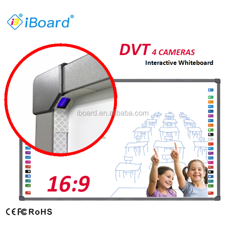 China Cheap Price Smart Touch Screen Optical Interactive Whiteboard