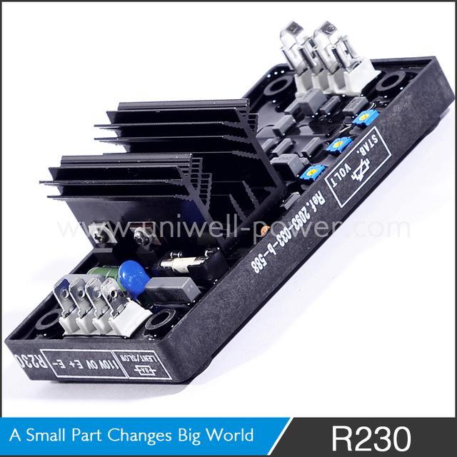 Leroy Somer R Voltage Regulator Wiring Diagram on