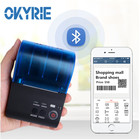 Okyrie 58mm Therml bar code support Android/IOS system Bluetooth label Printer