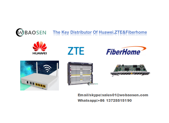 Ursprüngliches Huawei ONT HG8546M HS8545M HS8546V ​​FTTH Gpon ONU mit 1GE 4FE 4GE WIFI Dual Band ONT