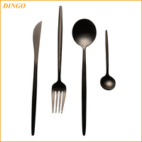 Nordic style Stainless steel knife and fork spoon 304 stainless steel tableware Craft gift tableware