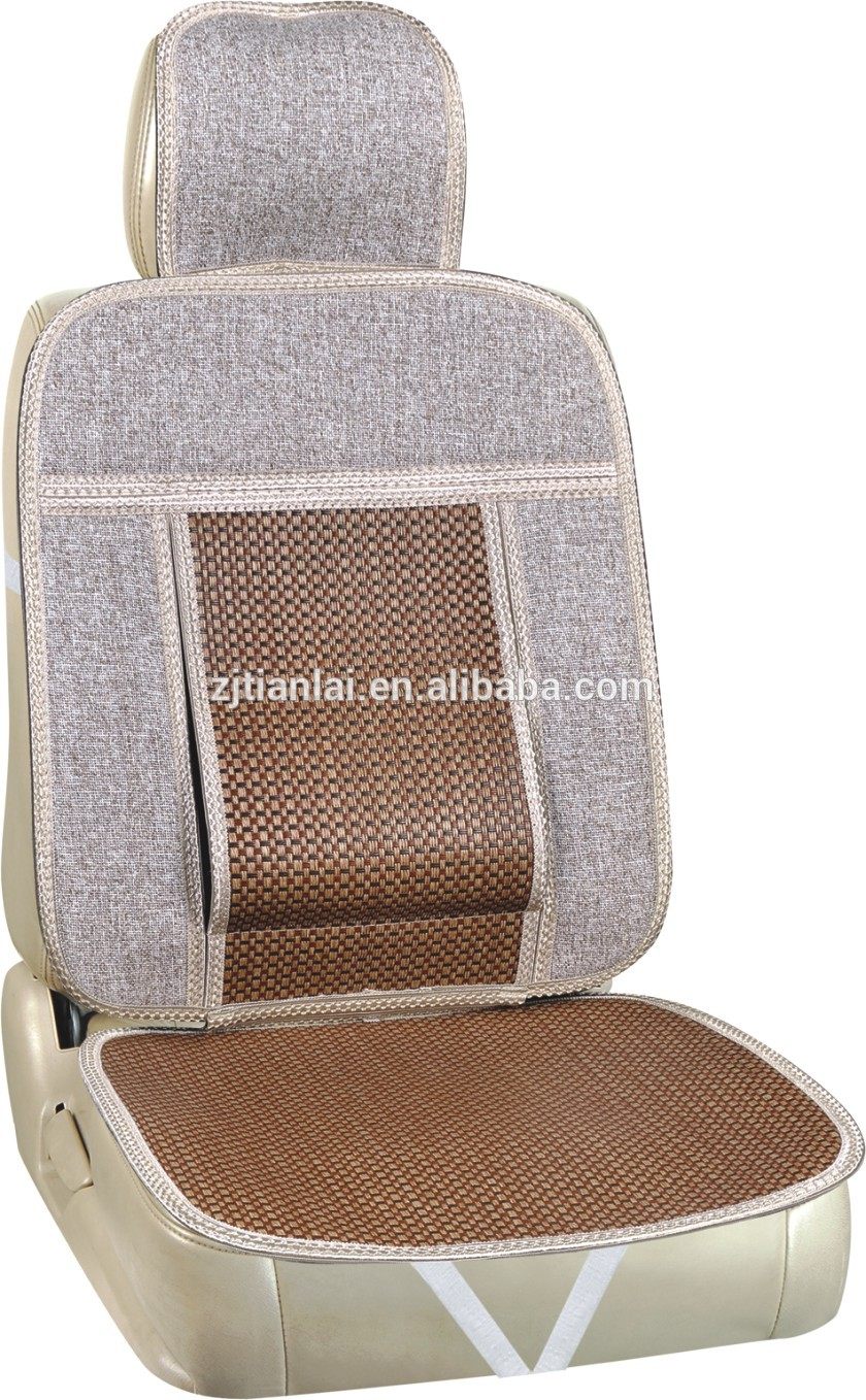 in stock and cheap leather car seat cushion cover set cooling car seat cushion for wholesales