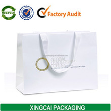 OEM eurotote paper bag with hot stamp logo