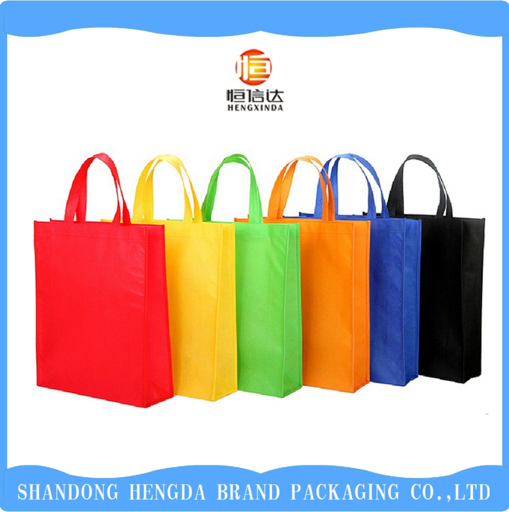 <strong>Promotion</strong> price from factory pp nonwoven bag with clear printing
