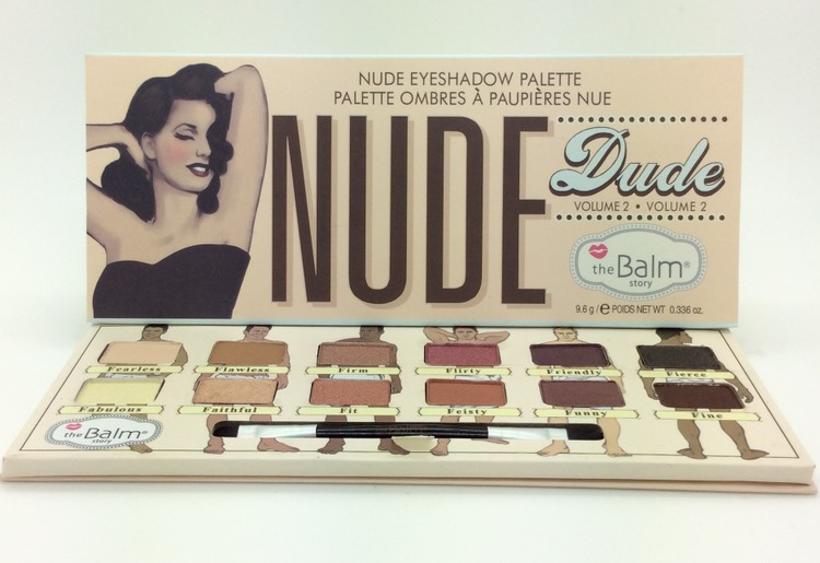 Thebalm Makeup Cosmetics 12 Colors The Balm Eyeshadow Palette Kit Nude Dude  Volume 2 Eye Shadow Make Up 2015 New Arrivals