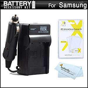 Buy Battery And Charger Kit For Samsung WB50F, WB35F, WB30F