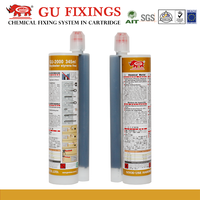 Fast time reinforced chemical building anchor concrete grout