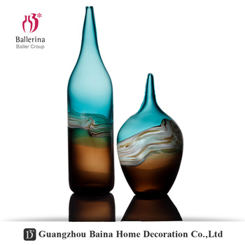 Ballerina New Design Hand Blown Glass Ornaments Large Colored Glass
