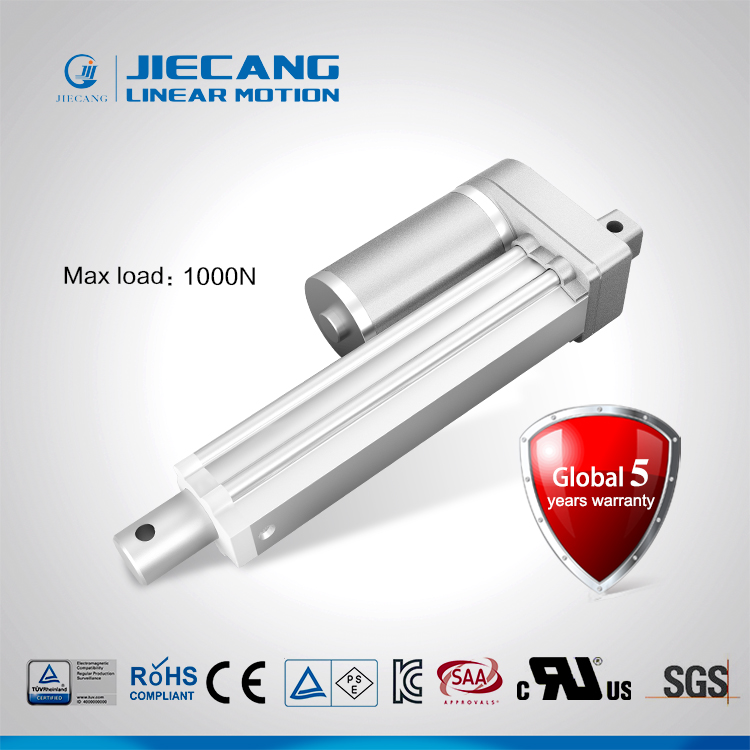 Jiecang JC35W1high speed basic economic design 1000N load capacity IP66 linear actuator