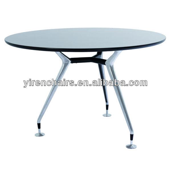 Mdf Top Metal Base Dining Table/metal Folding Table Leg/wood Dining Table    Buy Metal Dining Room Table Legs,Solid Wood Flip Top Dining Table,Wood  Plank ...