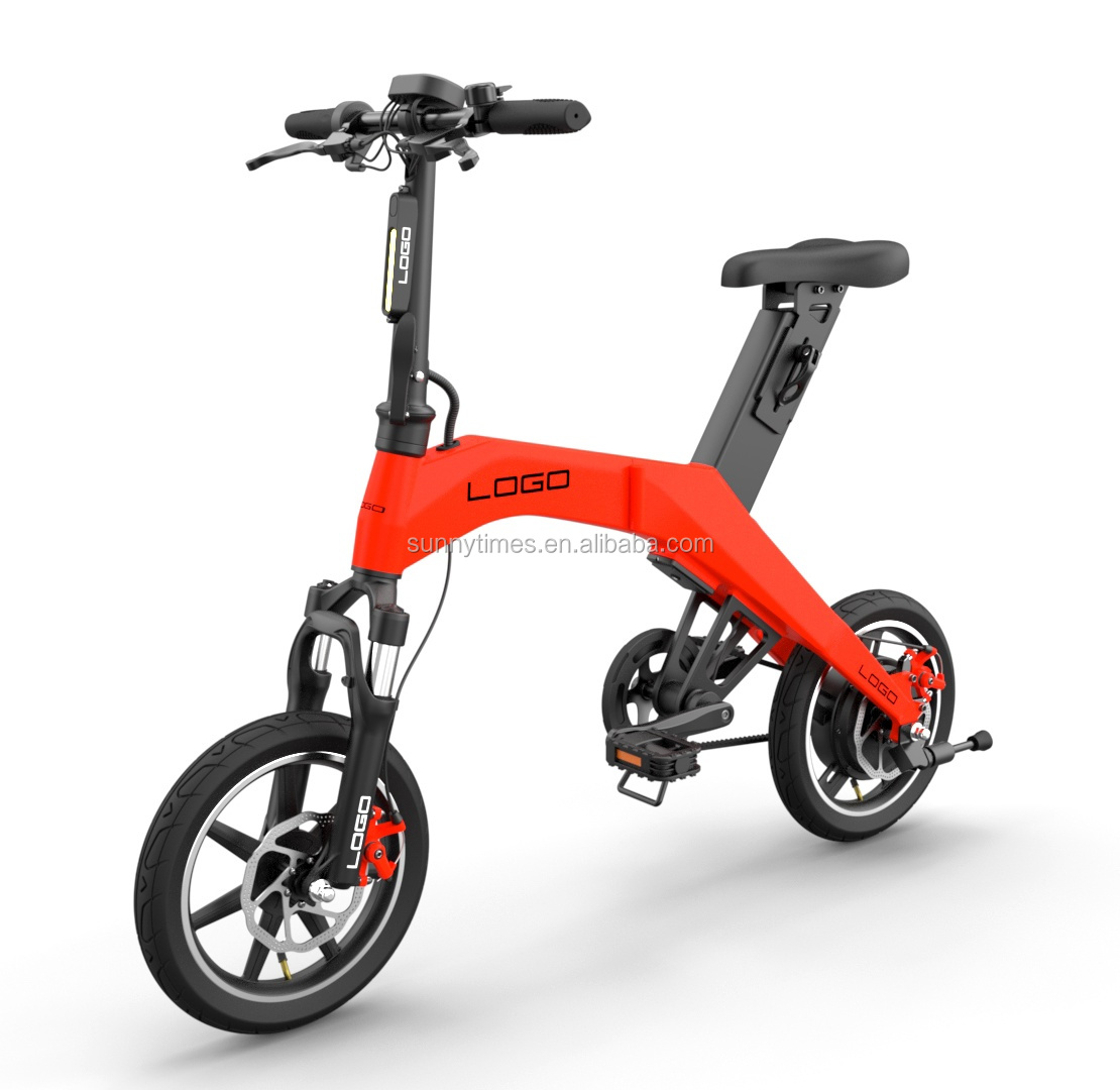 2019 kids electric bike made by carbon fiber electric bike <strong>folding</strong>