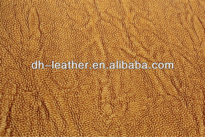 Artificial leather of new design for man shoes upper