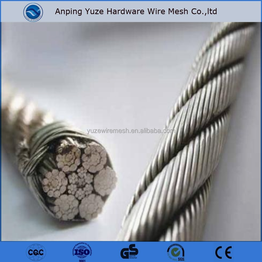 1x9 7x19 1x19 7x7 Cable Wire/wire Rope 316 Stainless Steel - Buy ...