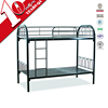 Fodable White iron fashionable kid bunk bed with ladder