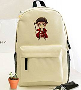 Siawasey Anime Hetalia Axis Powers Cosplay Backpack Daypack Messenger Bag Shoulder Bag