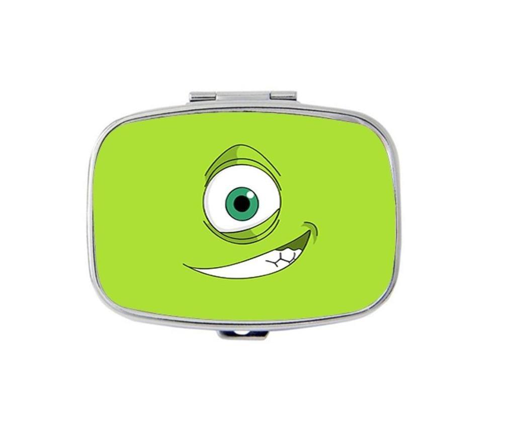 Carvin Design Simple Custom Personality Square Medicine Pill Vitamin Box Case Storage Dispenser Organizer Holder