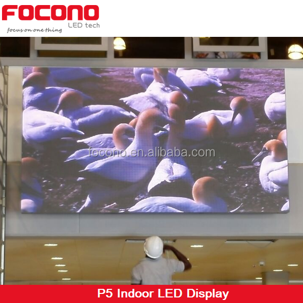 p5 indoor led screen for fair led video wall
