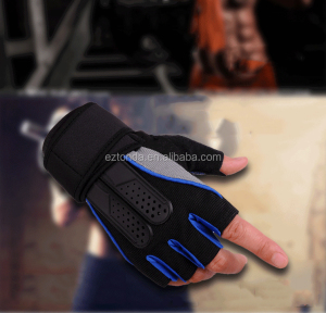 custom sports non slip open finger out gloves