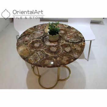 Fossil Stone Furniture Petrified Wood Panel