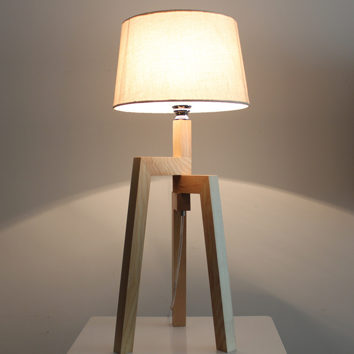 minimalist fashion creative adjustable wooden floor lamp continental cozy bedroom bedside lamp. Black Bedroom Furniture Sets. Home Design Ideas