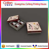 Chinese traditional style paper box for gift ,moon cake
