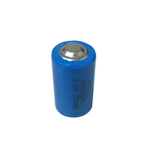 Hot sale 3.6 볼트 lithium battery 1/2aa 어 14250 <span class=keywords><strong>비</strong></span> <span class=keywords><strong>충전식</strong></span> li-ion battery