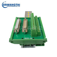 DB25-MG22 DB25 Male Female D-Sub 25 Pin Connectors Terminal Block Breakout Board DIN Rail Type